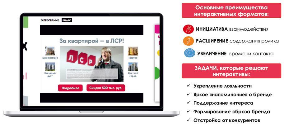 реклама в интернете ролик